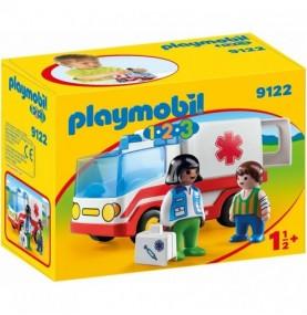 9122 1, 2, 3 Ambulancia