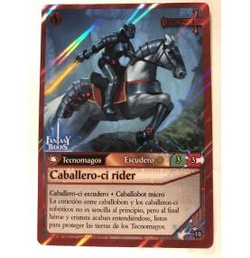 Caballero-ci Rider Escudero...