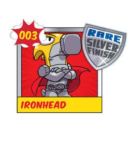 Superzing serie 1 IRONHEAD