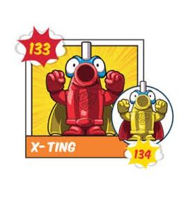 Superzing serie 2 134 X-TING