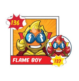 Superzing serie 2 136 FLAME...