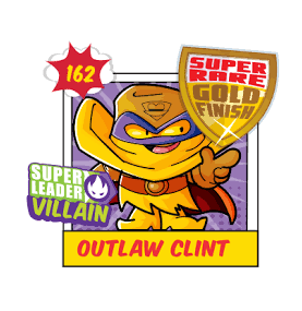 Superzing serie 3 OUTLAW CLINT