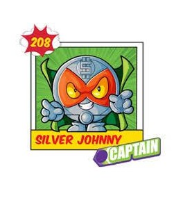 SILVER JOHNNY 208 Superzing...