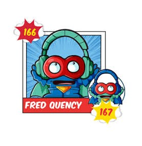 FRED QUENCY 167 Superzing...