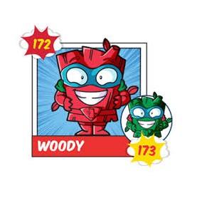 WOODY 173 Superzing serie 3