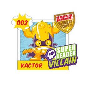 Superzing serie 1 KACTOR