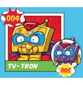 Superzing serie 1 004 TV TRON