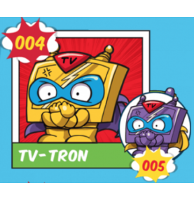 Superzing serie 1 004 TV TRON
