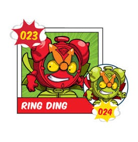 Superzing serie 1 023 RING...