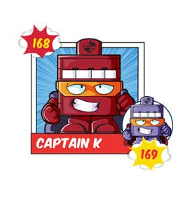 CAPTAIN K 169 Superzing...