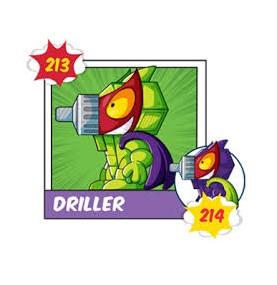 Superzing serie 3  214 DRILLER