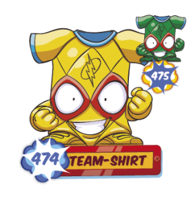 TEAM SHIRT 474 Superzing...